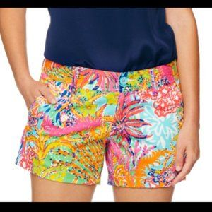 """Lilly Pulitzer """"Fishing for Complements"""" shorts"""